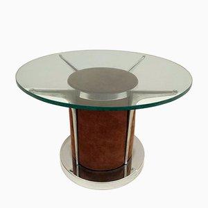 Table Basse Mid-Century en Daim
