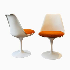 Swivel Tulip Chairs by Eero Saarinen for Knoll, 1960s, Set of 2