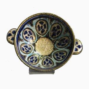 Cuenco Jugendstil de cerámica de Andre Métthey