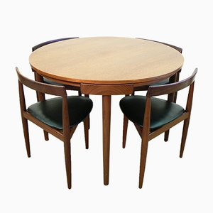 Dining Table Set by Hans Olsen for Frem Rojle, 1960s