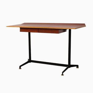 Vintage T90 Writing Desk by Osvaldo Borsani for Tecno