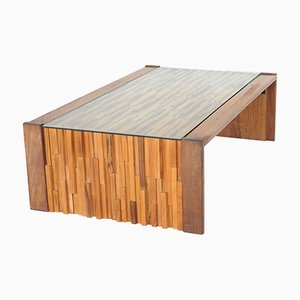 Table Basse Jacaranda Brutaliste par Percival Lafer
