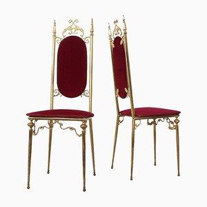 Chaises d'Appoint Chiavari, Italie, 1960s, Set de 2