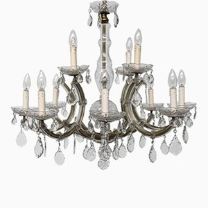 Large Marie Therese Two-Tier Chandelier, 1930s