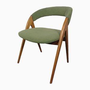 Sessel aus Buche in Grün, 1960er