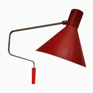 Lampe Murale Elbow par J.J.M. Hoogervorst pour Anvia, 1950s