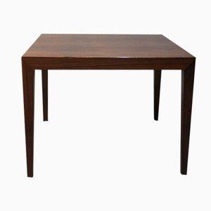 Tavolino in palissandro di Severin Hansen per Haslev, anni '60