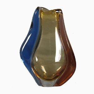 Jarrón bohemio de vidrio de Hana Machovska para Mstisov Glassworks