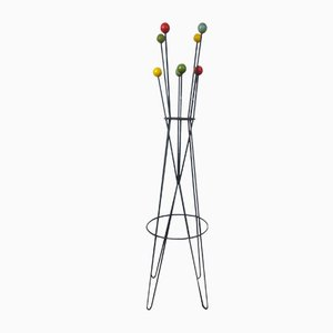 Vintage French Coat Rack by Roger Feraud, 1950s