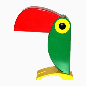 Parrot Table Lamp by Ferrari for OTE Verona, 1960s