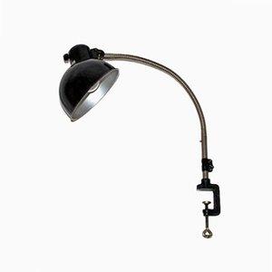 Lampada da tavolo vintage Bauhaus a morsetto di Christian Dell per Koranda