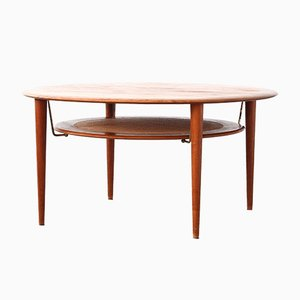 Danish Coffee Table by Peter Hvidt & Orla Mølgaard Nielsen for France & Son, 1960