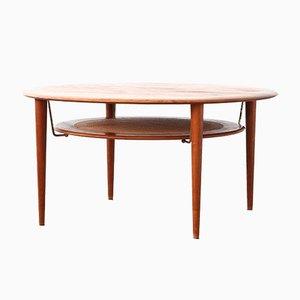 Tavolino da caffè di Peter Hvidt & Orla Mølgaard Nielsen per France & Son, Danimarca, 1960