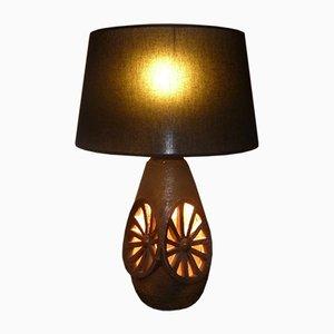 Lámpara de cerámica Vallauris de Musarra, años 50