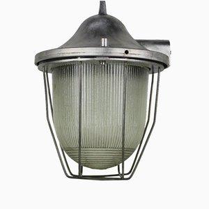 Lámpara industrial modelo C-200 de Polam Gdańsk, años 60