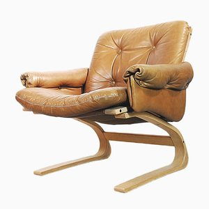 Norwegian Kengu Lounge Chair by Elsa & Nordahl Solheim for Rabo Rykken, 1976