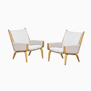 GE-501 Sessel von Hans J. Wegner für Getama, 2er Set