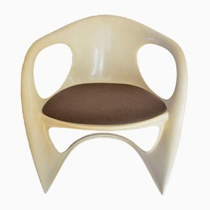 Casalino Plastic Chair by Alexander Begge for Casala, 1974