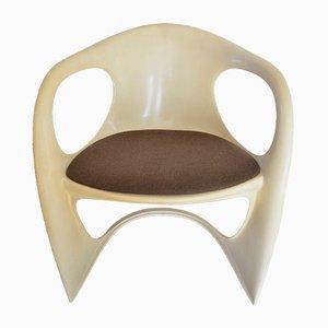 Chaise en Plastique Casalino par Alexander Begge pour Casala, 1974