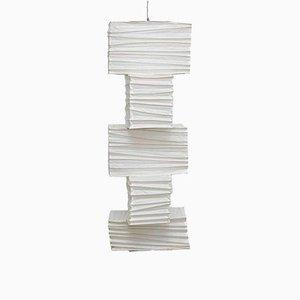 Lámpara de techo de papel de Ozeki & Company Ltd, años 50