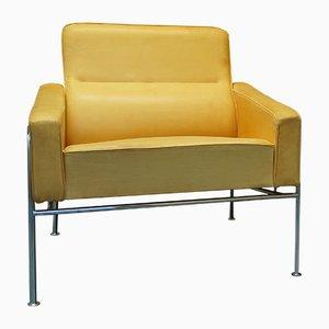 Fauteuil Vintage Series 3300 par Arne Jacobsen pour Fritz Hansen