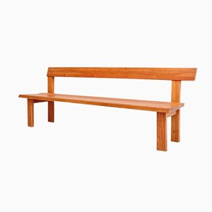 Elm Bench by Pierre Chapo, 1960s