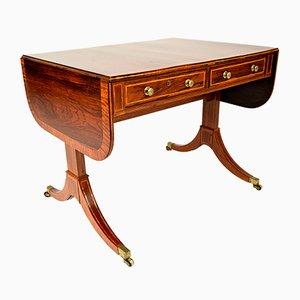 Englischer Palisander Schreibtisch, 19. Jh.