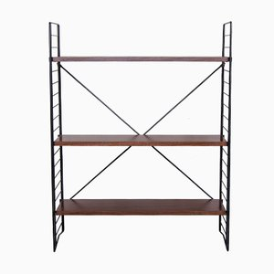 Free Standing Teak Shelving Rack by A.D. Dekker for Tomado, 1950s