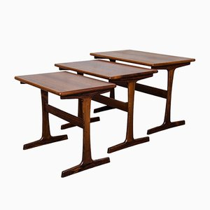 Tables Gigogne Vintage par Kai Kristiansen pour Vildbjerg Mobelfabrik