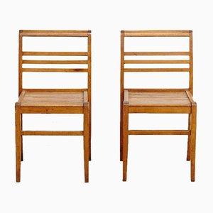Vintage Stühle von Rene Gabriel, 2er Set