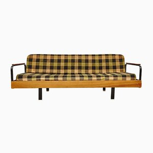 Vintage French Checkered Sofa & Daybed