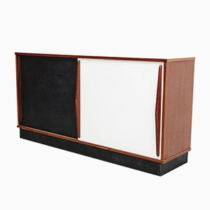 Black and White Cansado Sideboard by Charlotte Perriand