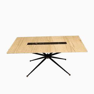 Table Basse Sputnik avec Plateau en Marbre, Italie, 1960s