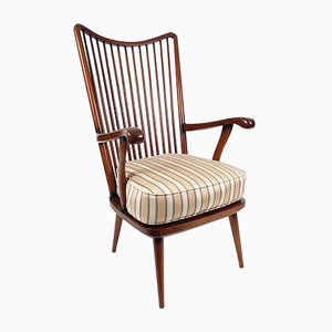 Vintage Scandinavian Rosewood Lounge Chair