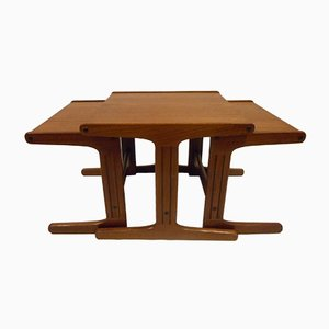 Tables Gigognes Style Nordique, 1960s