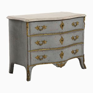 18th Century Swedish Rococo Chest