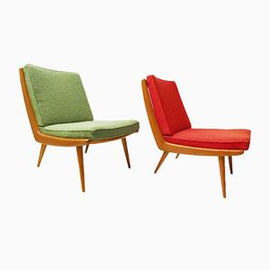 Boomerang Lounge Chairs from WK Möbel, 1950s, Set of 2