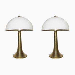 Lampade da tavolo di Gabriella Crespi, anni '70, set di 2