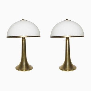 Lampes de Table par Gabriella Crespi, 1970s, Set de 2