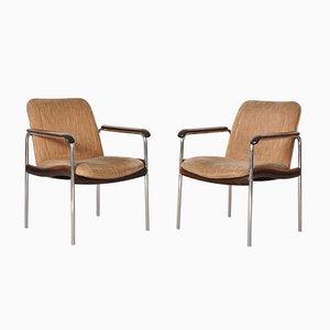 Chaises d'Appoint Vintage, Italie, 1970s, Set de 2