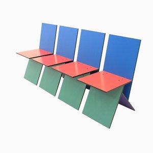 Chaises Vilbert par Verner Panton pour Ikea, 1993, Set de 4