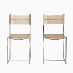 Spaghetti Chairs by Giandomenico Belotti for Alias, 1970s, Set of 2