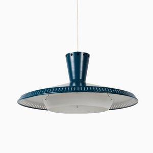 Lámpara colgante NB93 industrial de Louis Kalff para Philips, años 50