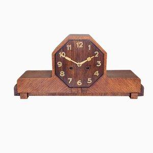 Dutch Art Deco Mantel Clock, 1930s