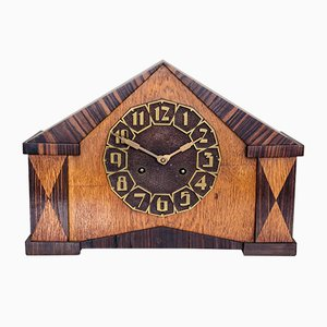 Art Deco Table or Mantle Clock, 1920s