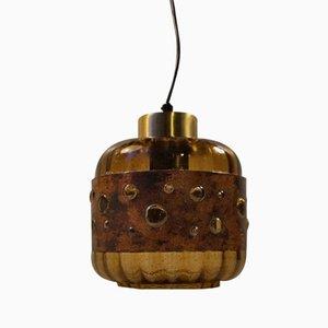 Lámpara colgante Mid-Century brutalista de Nanny Still, años 60