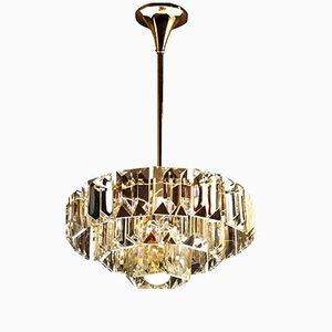 Lampe à Suspension Mid-Century Moderne en Cristal de OTT