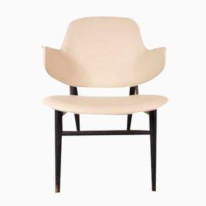 Dänischer Shell Stuhl von Ib Kofod-Larsen für Christensen & Larsen, 1950er
