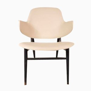 Sedia a conchiglia di Ib Kofod-Larsen per Christensen & Larsen, Danimarca, anni '50