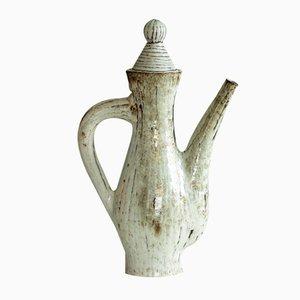 Tetera francesa escultural de Jean Derval para Atelier du Portail , años 60